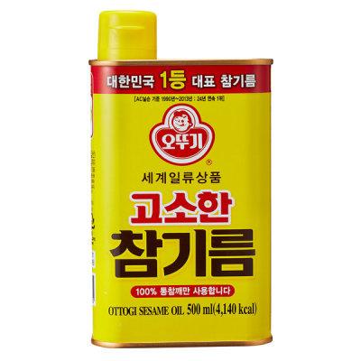 오뚜기 고소한 참기름(CAN) 500ml