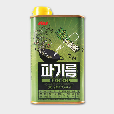 시아스 코리원/시아스 파기름 500ml/파기름/향미유/파/맛기름