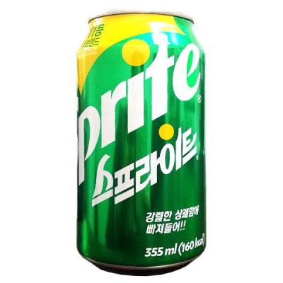 코카콜라 스프라이트 355mlx24캔/탄산음료.뚱캔