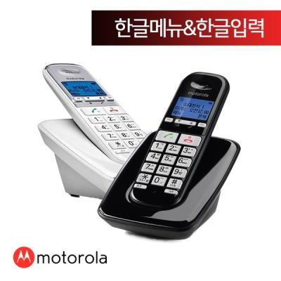 모토로라 무선전화기 S3001A 블랙