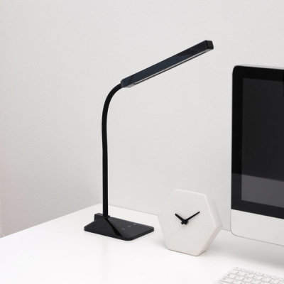 단순생활 LED 스탠드 블랙