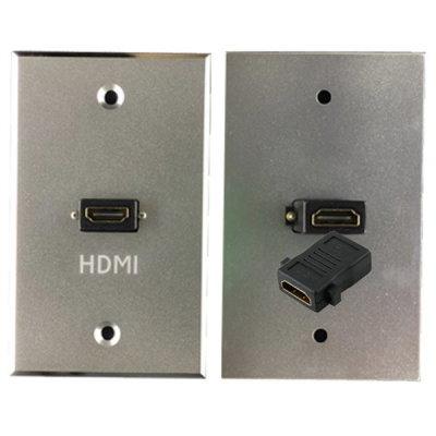 벽부판넬 알루미늄 월플레이트 HDMI1구 빔프로젝터TV