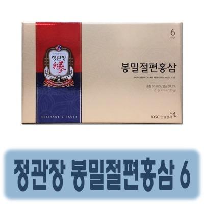 정관장 정관장 봉밀절편홍삼 20g 6포 / 선물포장가능