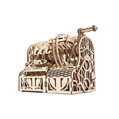 유기어스 금전등록기 목재 모형