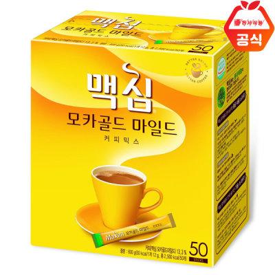 맥심 모카골드 커피믹스 50T 커피