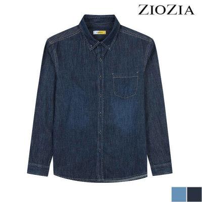 ZIOZIA (현대Hmall) 지오지아  베이직 데님 셔츠 (ADY5DW1951)