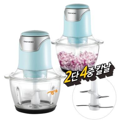 대우 대우 전동 다지기(민트) 마늘 야채 이유식 믹서기