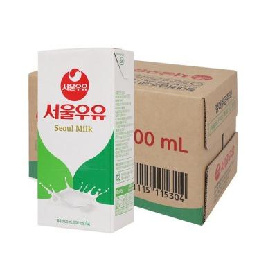 서울우유 멸균우유 1000ml x 10입 (1박스)