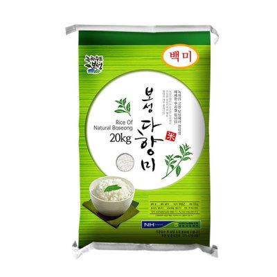 보성농협 보성다향미20kg/쌀20kg 2020년햅쌀 상등급 당일도정