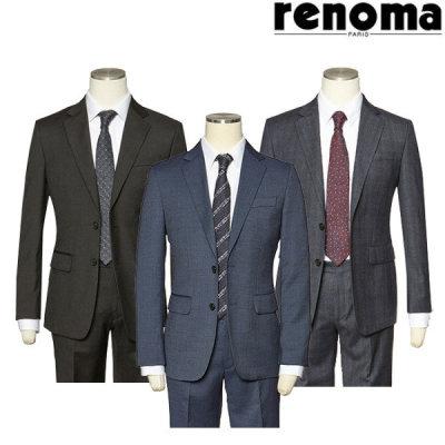 레노마  레노마(남성)  F/W 데일로 입기 좋은 슬림 스판정장 2종택1 RLKPSJ00ABB