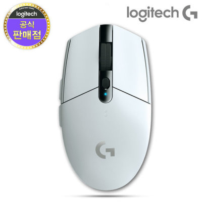 로지텍 로지텍코리아 G304 LIGHTSPEED WIRELESS 정품 화이트