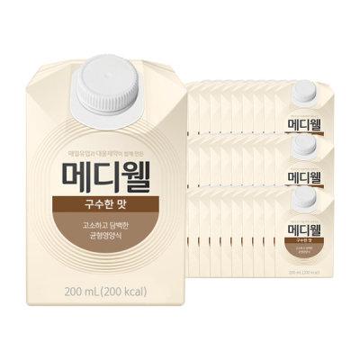 메디웰 메디웰 구수한맛 200mlx30캔/식사대용/프로틴/보충제