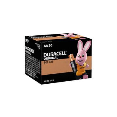듀라셀 듀라셀 알카라인 건전지 AA 20개입 x 2개