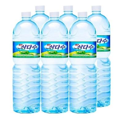 제주 삼다수/ 2L x6펫/ 생수/물/석수/천연 암반수