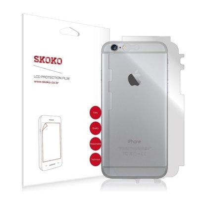 아이폰 6 S 플러스 후면 전신 외부보호필름 2매입